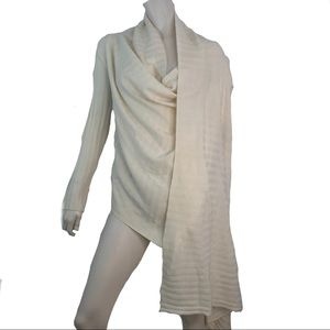 Nordstrom Draped Cardigan Wrap Cashmere Wool